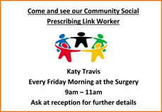 Come and see our community support worker